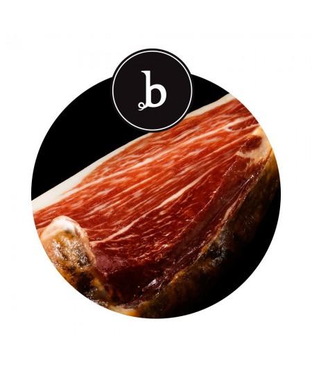 Comprar jamón de bellota 100% ibérico de Extremadura loncheado a mano de Beridico en www.jamonypico.com