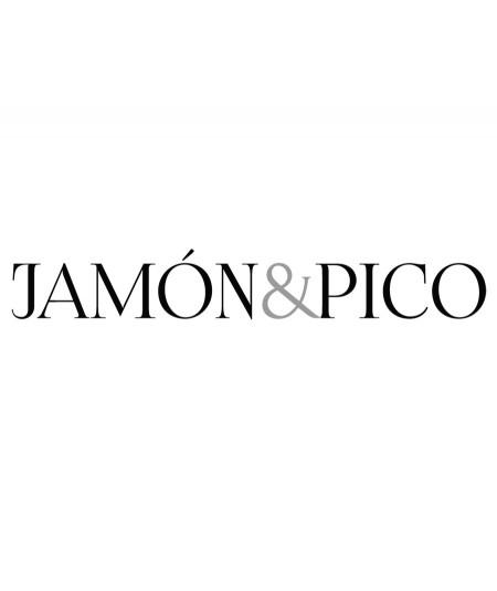 Comprar Estuche de medio Jamón de Bellota Ibérico 50% raza Ibérica Cortado a Cuchillo de Berídico en www.jamonypico.com