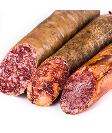 Comprar Oferta especial Lomo, Chorizo y Salchichón de Cebo Campo Ibérico 50% en www.jamonypico.com