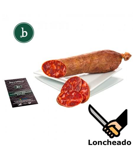 Comprar Chorizo Ibérico Cular Extra loncheado de Berídico en www.jamonypico.com