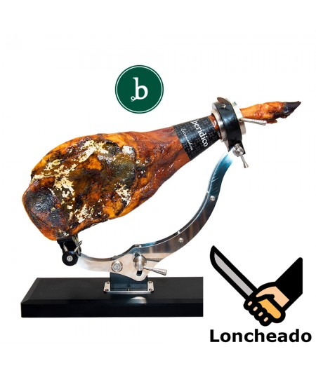 Comprar paleta de cebo campo ibérica 50% raza ibérica loncheada a cuchillo de la marca berídico en www.jamonypico.com