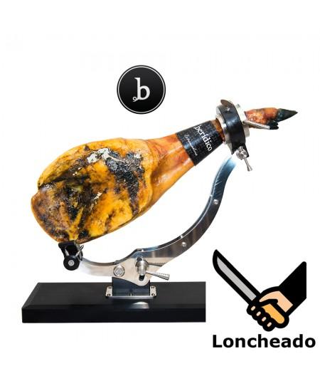Comprar Paleta de Bellota 100% ibérica de Berídico loncheada  cuchillo en www.jamonypico.com