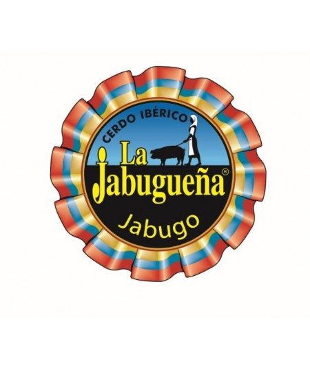 Iberian Salchichon from Jabugo made by La Jabugueña from acorn-fed iberian pigs