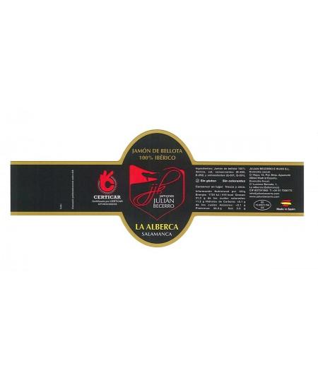 buy online Guijuelo pata negra ham artisanally sliced