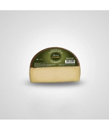 Compra queso Curado COVAP de Oveja. Queso curado elaborado con leche pasteurizada de oveja siguiendo la receta tradicional. Sabo