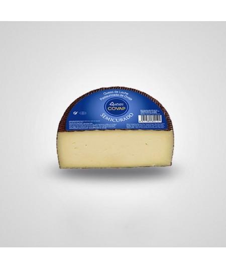 Compra queso Semicurado COVAP de Oveja Medio queso semicurado elaborado con leche pasteurizada de oveja siguiendo la receta trad