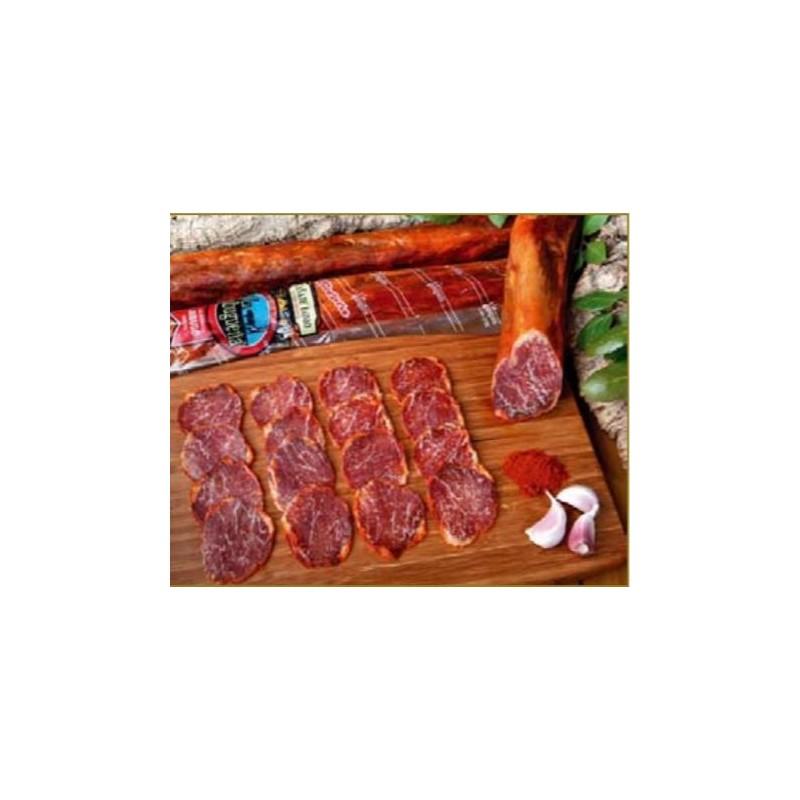 Comprar Oferta especial surtido embutidos de bellota lomo, chorizo y salchichón 50% Ibéricos  de La Jabugueña