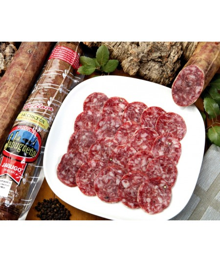 Special acorn fed Jabugo delicatessen offer: Enjoy a Spanish pork loin, a Spanish smoked chorizo and a Spanish Sausage.  We deli
