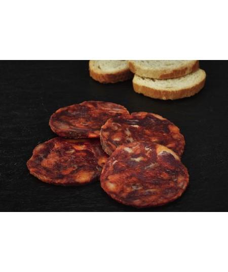 Chorizo Cular de Bellota 100% ibérico de Navarretinto Ibéricos disponible en www.jamonypico.com